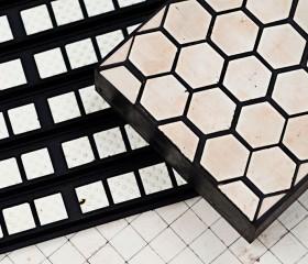 橡胶陶瓷复合板、耐磨陶瓷复合板